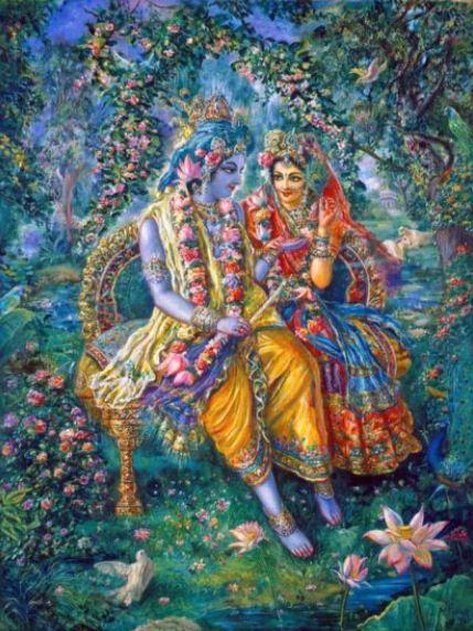 Radharani & Krishna