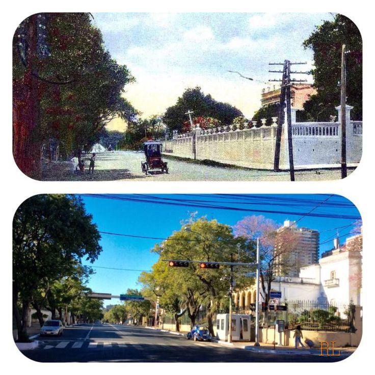 Mcal López y Brasil de Asunción-Paraguay