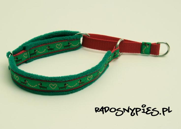 Polar handmade dog collar