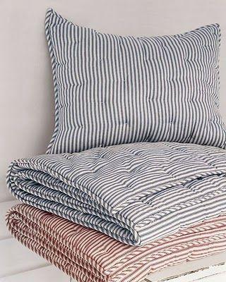 25 Best Ideas About Ticking Stripe On Pinterest Striped