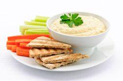 Hummus & Pita Crisps seniorchef.co.nz
