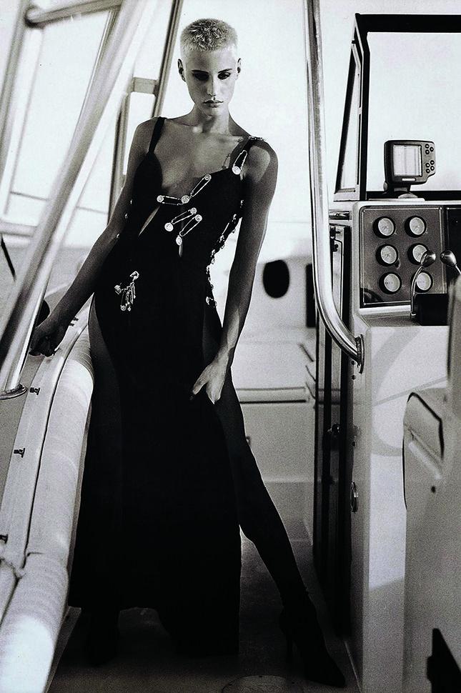 Ева Салвейл. Фото: Брюс Вебер, Vogue Paris, 1994