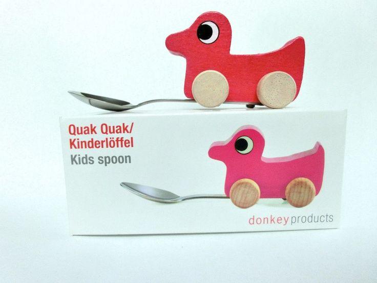 Kinderlöffel Ente Donkey Products Löffel Holzlöffel Kinder Besteck