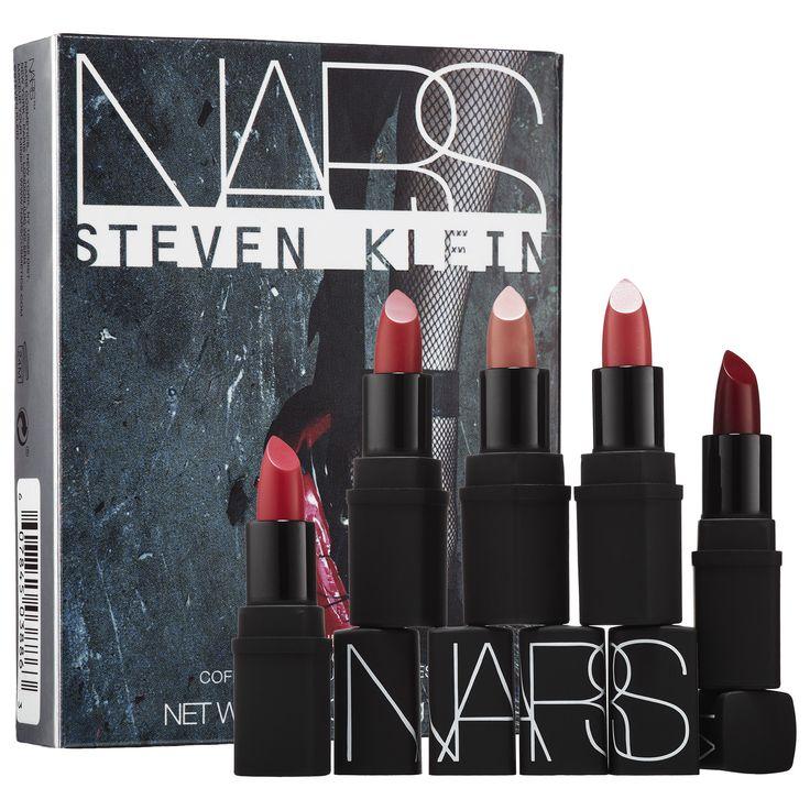 Shop NARS STEVEN KLEIN COLLABORATION KILLER HEELS LIPSTICK COFFRET at Sephora. This limited-edition mini lipstick coffret features five lipsticks.