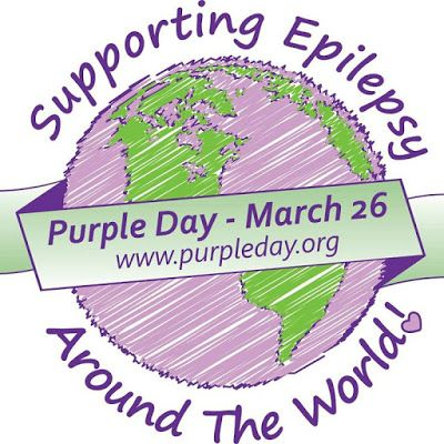 What's up with Eta Sigma Delta: ~ Epilepsy Awareness Day - Purple Day ~