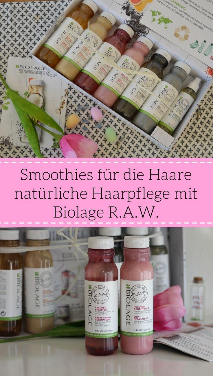 Natürliche Haarpflege ohne Parabene, Silikone und Sulfate Biolage R.A.W. von Matrix L'oreal shampoo, conditioner, schöne Haare