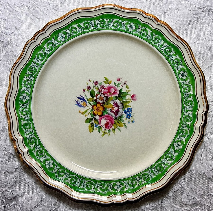 339 best Plates images on Pinterest | Dishes, Porcelain and China ...