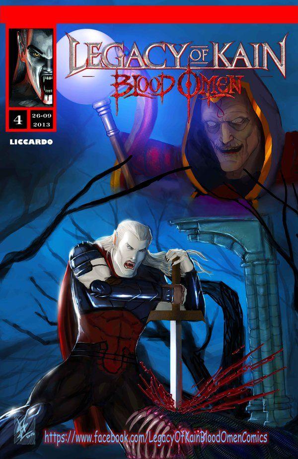 Legacy of kain Blood omen comics issue 4 ITA/ENG by Dark-thief.deviantart.com on @DeviantArt