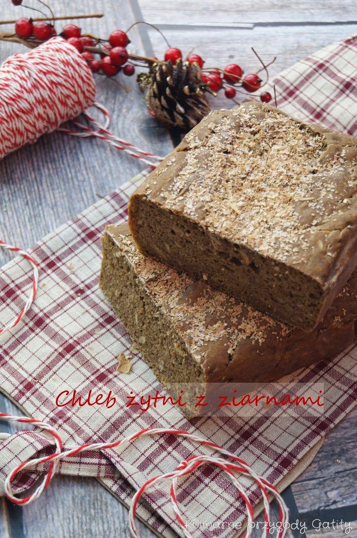 Kulinarne przygody Gatity: Chleb żytni na zakwasie ze słodem