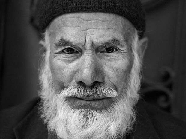Friendly old man at Tarlabaşı Street Market, Istanbul
