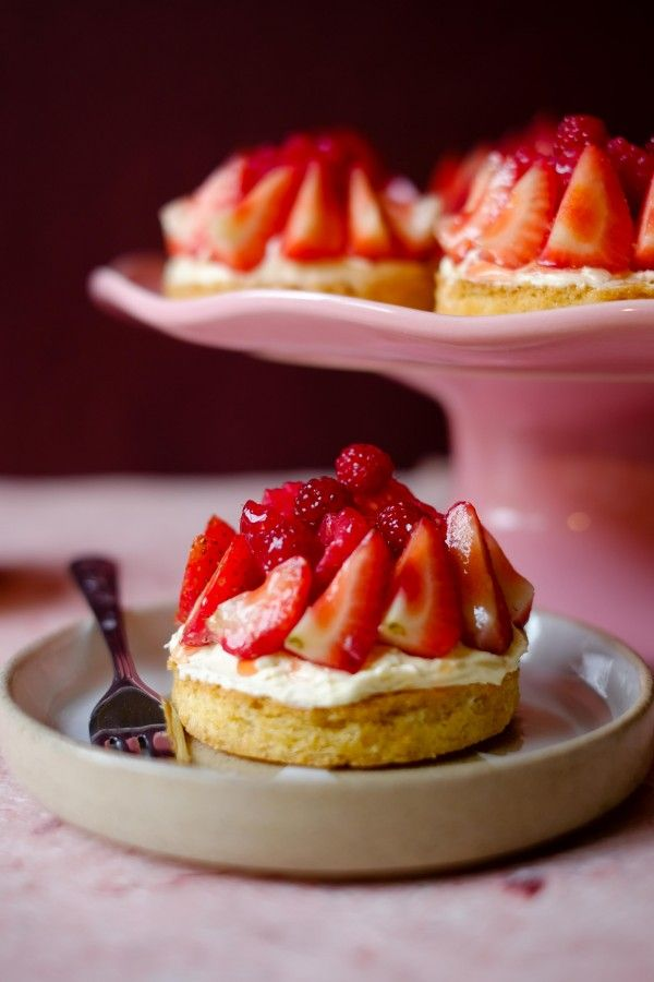 Summer Fruit Tarts are just delicious these have a shortbread base which makes them so easy to prepare.