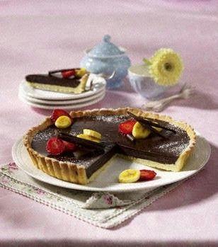 Das Rezept für Tarte au chocolat und weitere kostenlose Rezepte auf LECKER.de