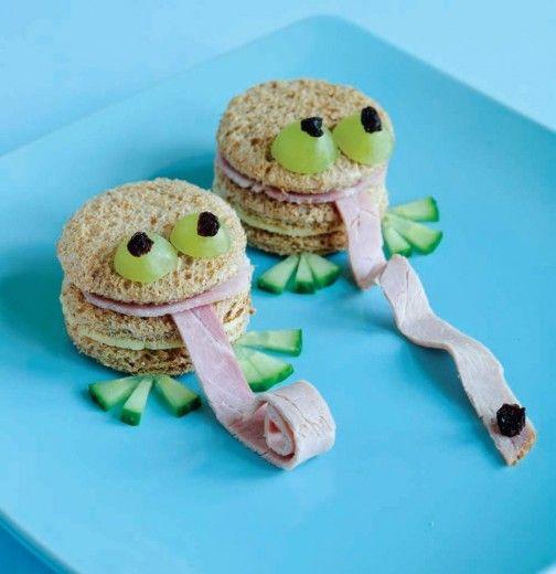 frog Sandwich for kids