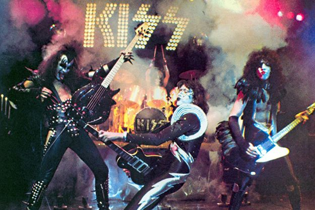 You wanted the best and you got the best, the hottest band in the world: KISS!
