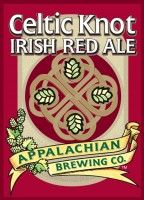 Celtic Knot is a beautiful and buoyant red ale. Its toffee-like malt sweetness gives this beer flavor that is hard to beat. It finishes crisp and clean with a moderate hop perception like the famous red ales of Dublin. Appalachian Brewing Company is famous for our three week Irish Fest leading up to St. Patrick's Day. This gathering features traditional Irish music, step dancing, food and Celtic Knot Irish Red Ale to round out the festivities
