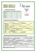 Various exercises to practise the past perfect tense. - ESL worksheets