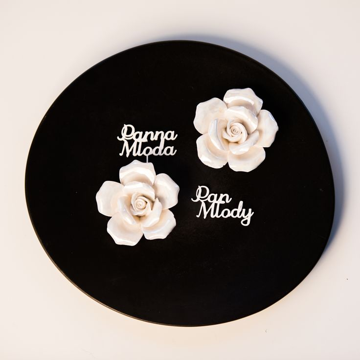 Winietki 3D | Wedding place cards