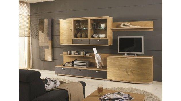 7 best Wohnwände images on Pinterest Entertainment center, Ideas - steintapete beige wohnzimmer