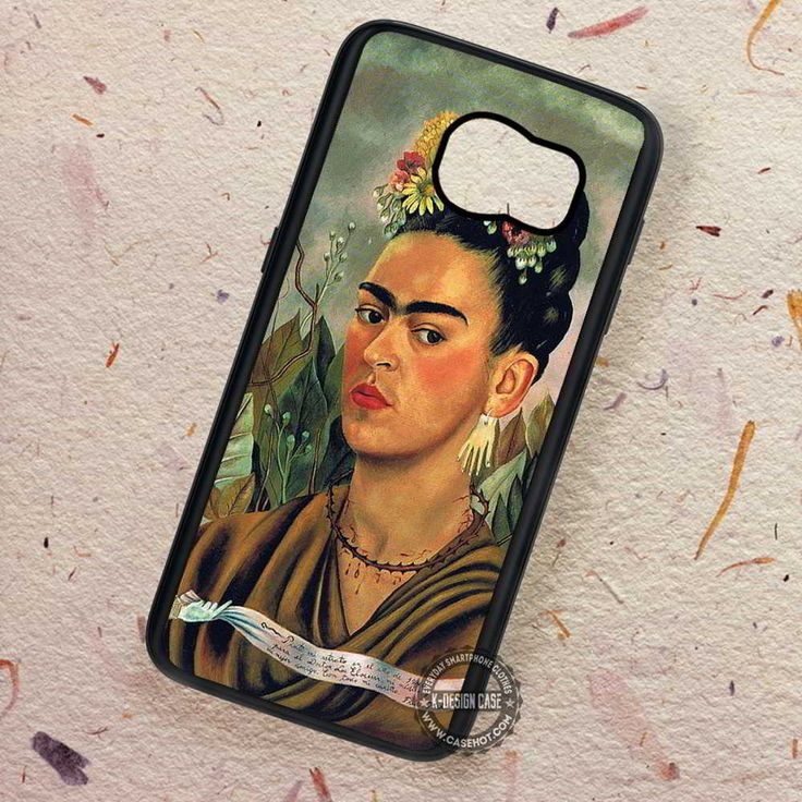 Woman Self Potrait Frida Kahlo - Samsung Galaxy S7 S6 S5 Note 7 Cases & Covers