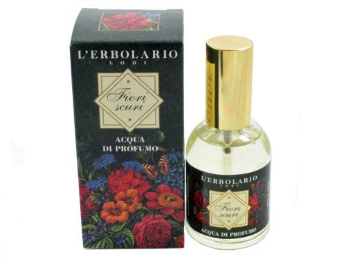 Fiori Scuri (Dark Flowers) Acqua di Profumo (Eau de Parfum) by L'Erbolario Lodi. All natural product line. Safe for sensitive skin. Cannot be shipped to California.