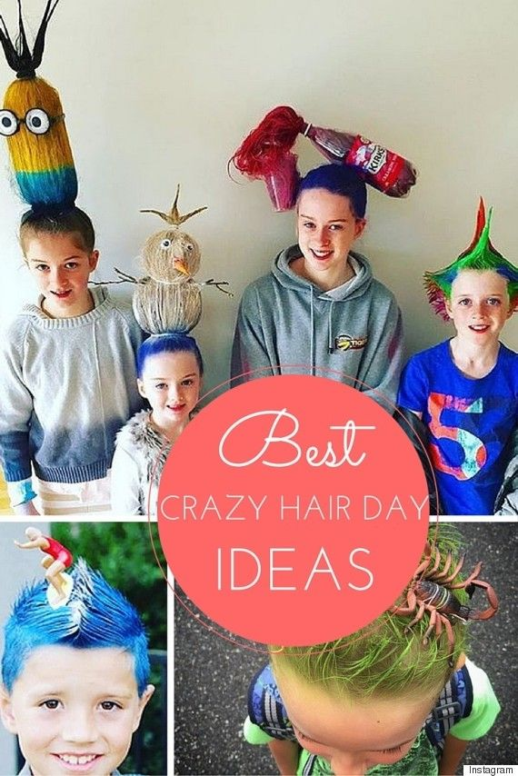 These parents take Crazy Hair Day to a whole new level!