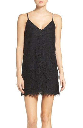 Free shipping and returns on Bardot Tempest Lace Slipdress at Nordstrom.com. '90s minimalism meets modern romance in a short, simple cocktail dress made from intricate floral lace.