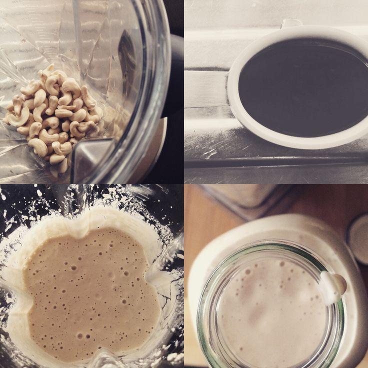 Making Cashew Cream.. Recipe on the blog (link is in bio ☝️) #dairyfree #healthy #healthyfood #healthyeating #crossfit #cleaneating #vegan #vegetarian #plantbased #paleo #plantbaseddiet #gym #fitness www.martinetrinder.com