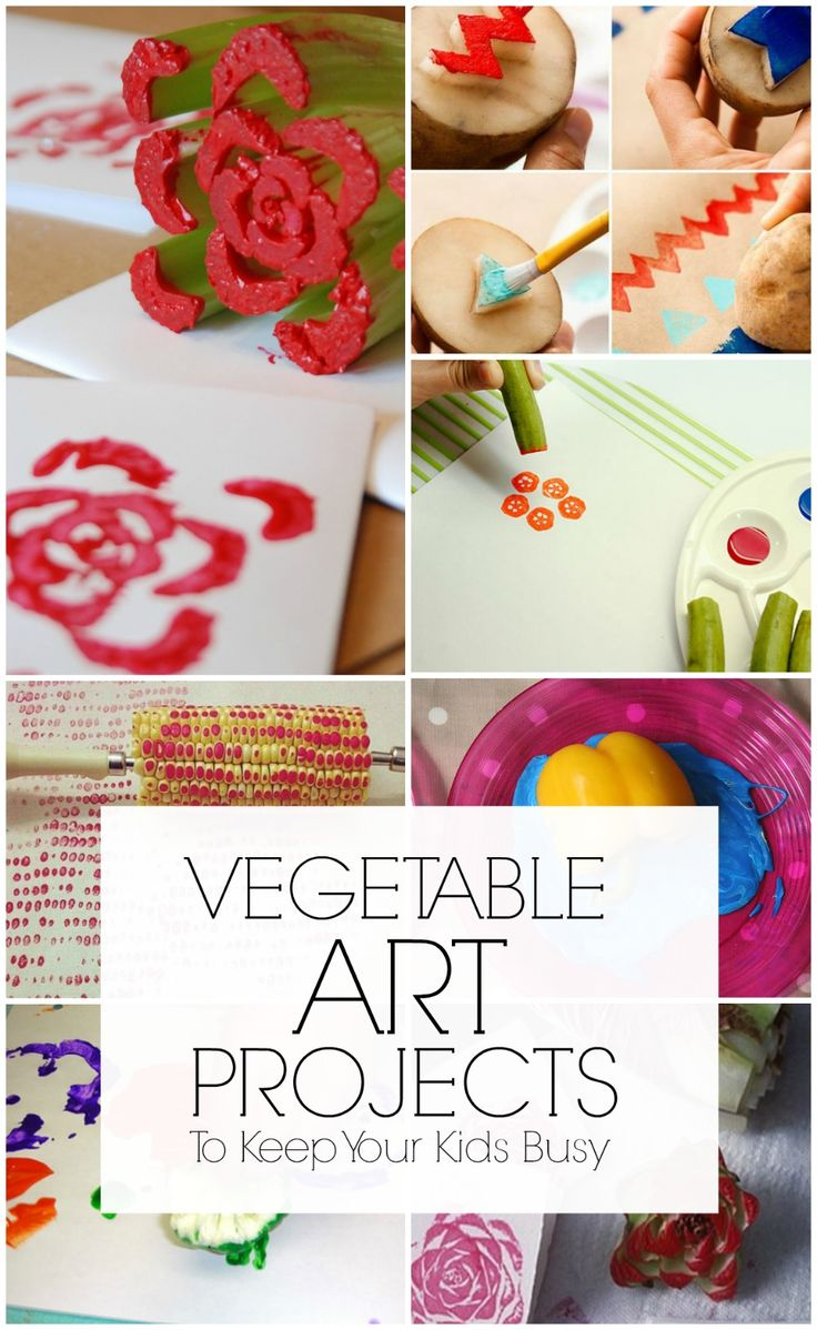 How about vegetable painting? Sounds fun isn't it? All your kid requires for this activity are some vegetable from your kitchen and some kid-safe paint. While things could get messy, it will allow your kid to embrace his creativity and hone his artistic skills.Here are some fun and innovative vegetable paintings for your kid to indulge in