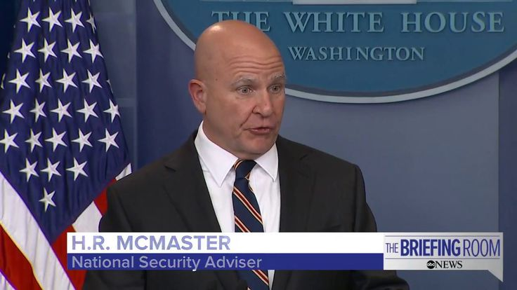 White House Press Briefing featuring National Security Advisor H.R. McMa...