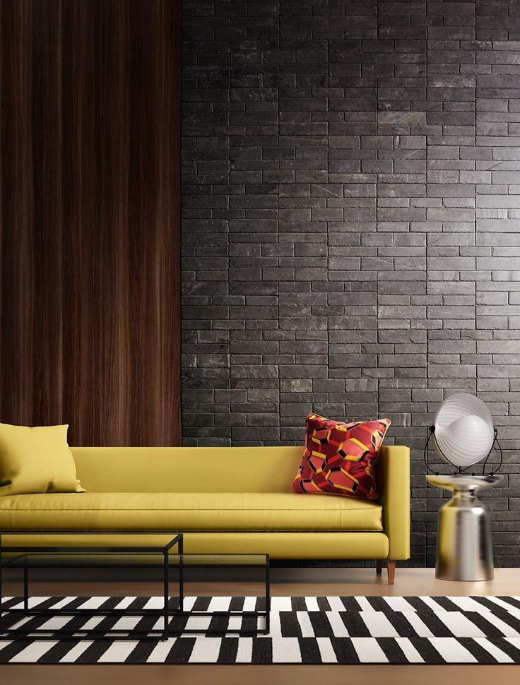 M s de 25 ideas incre bles sobre paredes interiores de - Piedra paredes interior ...