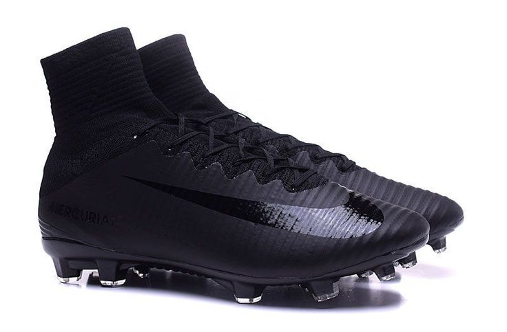 Soccer Nike Mercurial Superfly V FG Junior Soccer Cleat Black/Black/Black