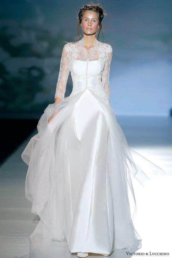 Tendance Gown De Mariée 2017/ 2018 : victorio y lucchino 2014 bridal brujas lon…