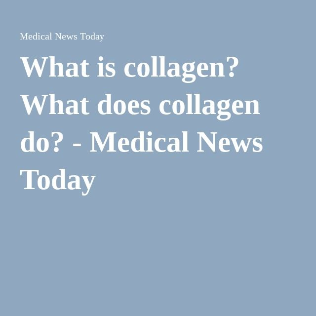What is collagen? What does collagen do? - Medical News Today