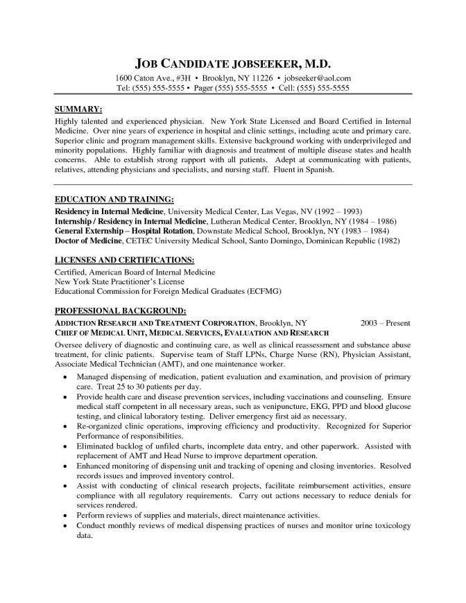 30 Curriculum Vitae Template Medical Curriculum Vitae