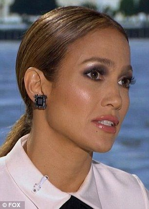 Lopez as seen on Thursday night's American Idol...