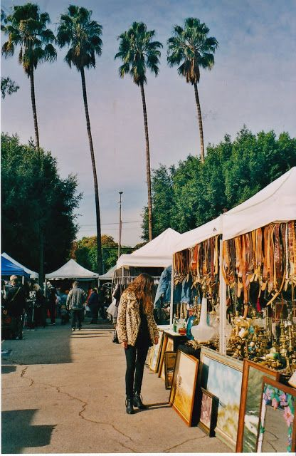 Melrose Trading Post (Life of Boheme): flea market. Every Sunday 9:00 AM to 5:00 PM at Fairfax High.
