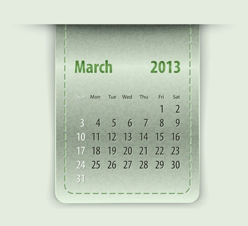 You can celebrate a different food every day of the year. National Food Days March 2013 Calendar