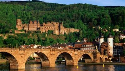 Château d'Heidelberg en Allemagne