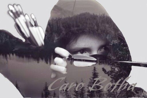 INTO THE WOODS Double exposure by Caro Botha