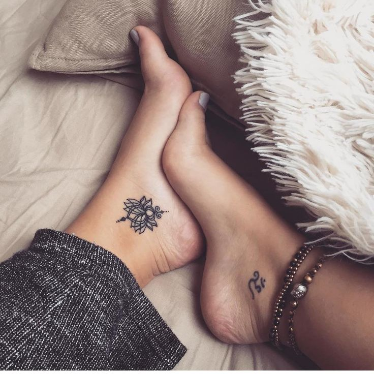 +40 Women's Ankle Tattoos Models
