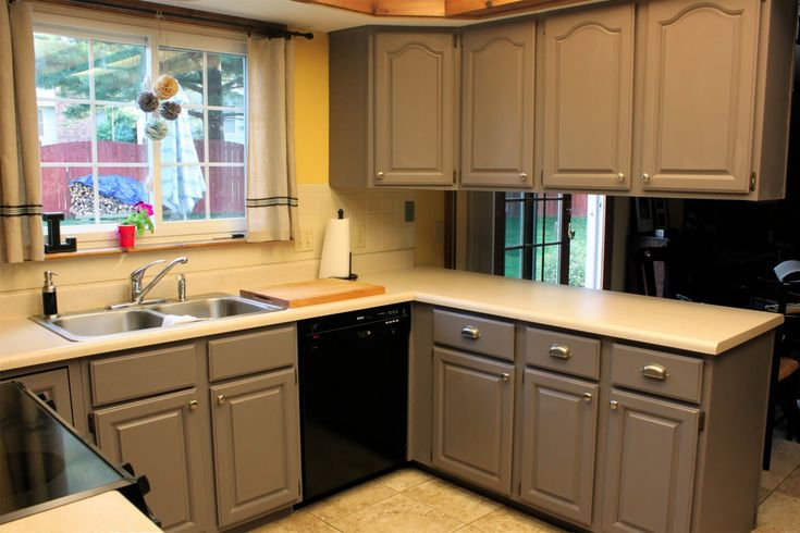 home depot kitchen cabinets | ... by the crafty cpa: work in progress:  painting kitchen cabinets | Kitchen Cabinet/Tile