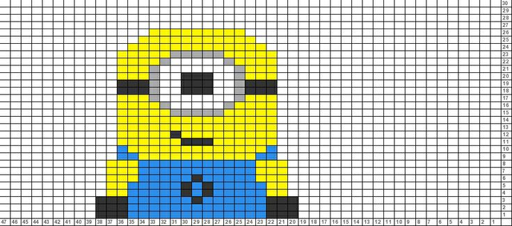 Tricksy Knitter Charts: Minion (70706) (70816) (70854)