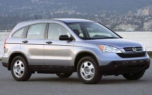 2008 Honda CRV. Only owned this car for a short period of time. Dark blue automatic 4WD. Did not think it was comfortable and wanted to go back to a Volvo. So I purchased a Volvo S50 wagon.