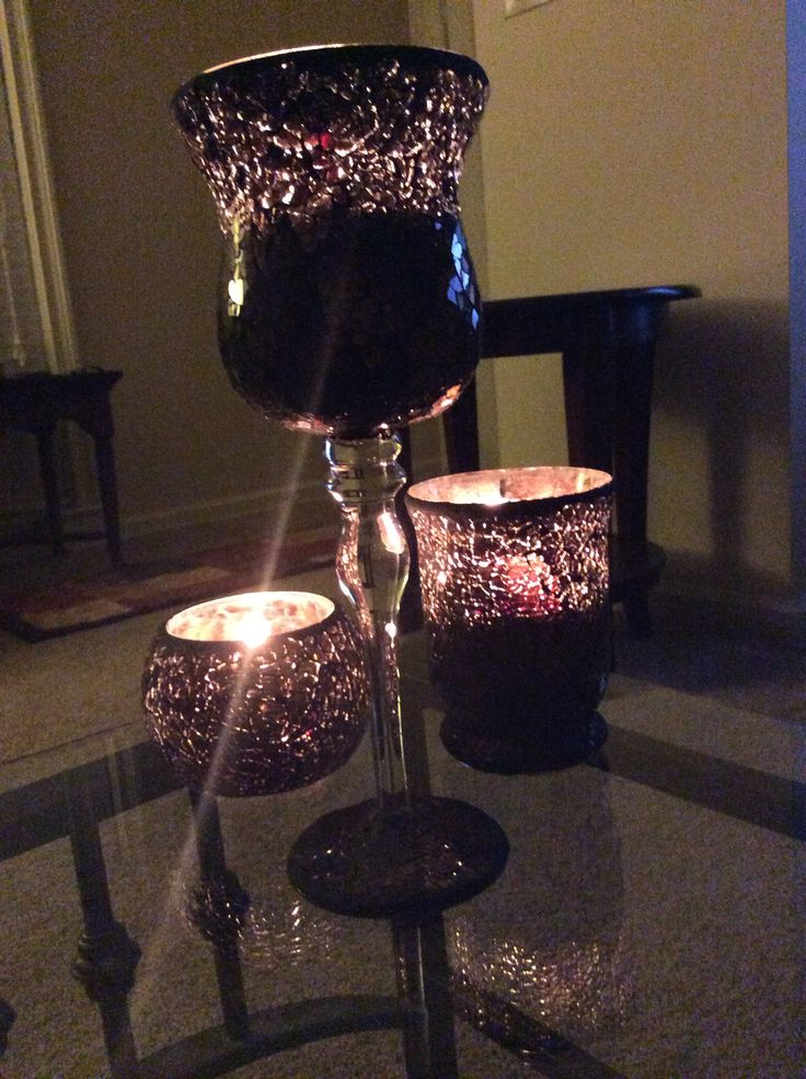 Candle holders from Hobby Lobby :) | Candle holders, Decor ... on Candle Globes Hobby Lobby id=66322