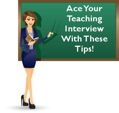 Prepare for a Teaching Interview - Land that Teaching Job!
