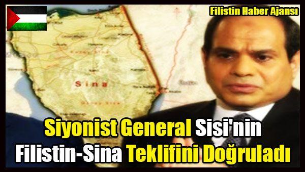 Siyonistİsrailli bir general, Mısır'da darbeyle göreve gelen Abdülfettah El-Sisi'nin Sina Yarımadası'na Filistinlilerin yerleştirilmesini teklif ettiğini doğruladı.   #filistin haber #filistin işgal #filistin sina yarım adası #israil sisi #israil sisi mısır sina #mısır sina filistin #sisi filistin israil sina #sisi mısır gazze #siyonist israil