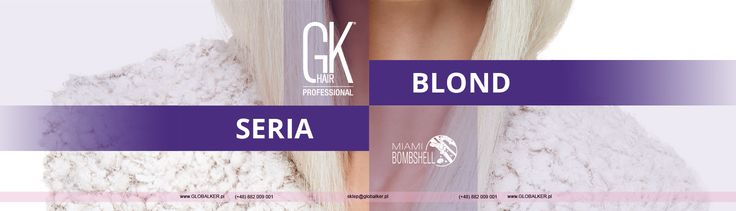 Blonde Hair on http://blondwlosy.pl/ with GK Hair® Juvexin® Global Keratin®