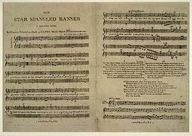 L'article de Wikipedia consacré à l'hymne américain, son histoire, les paroles en anglais et la traduction en français.