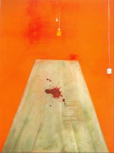 Francis Bacon, Blood on the Floor
