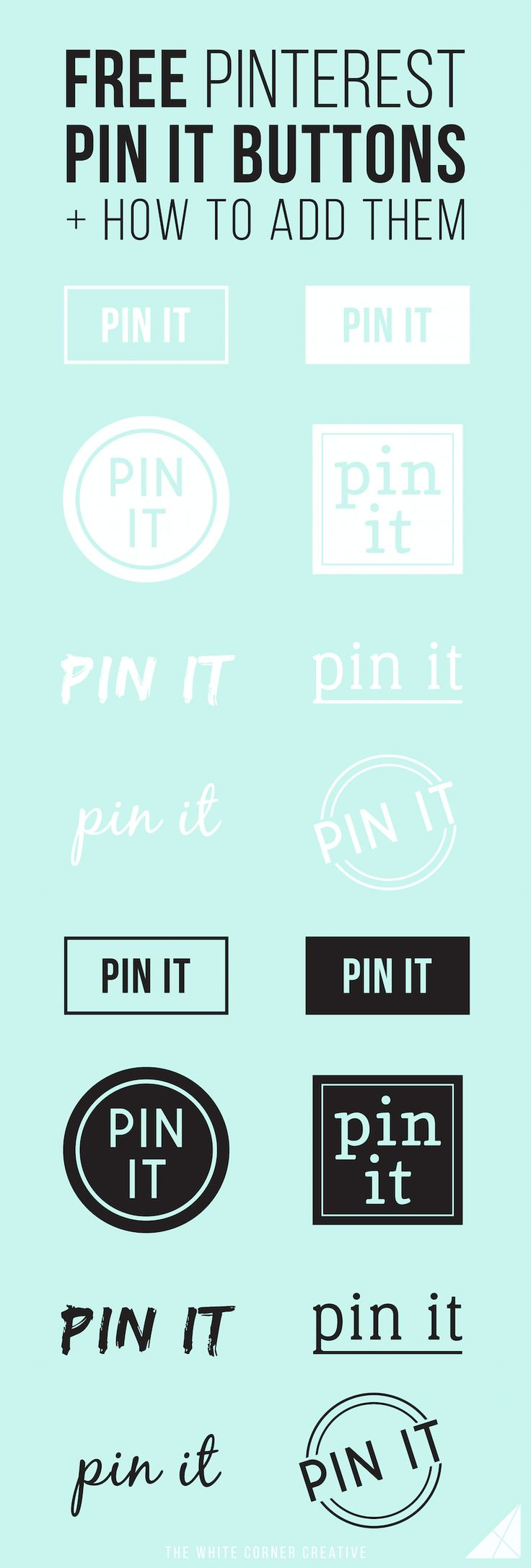 Adding a custom pin it button on your site is a great way to boost your…